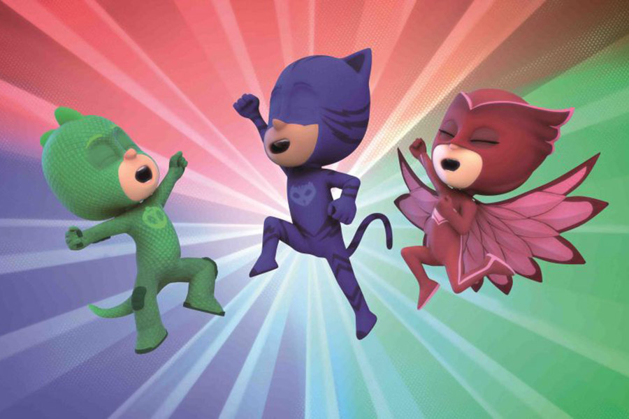 eOne Announces New Broadcast Partners for PJ Masks in Italy