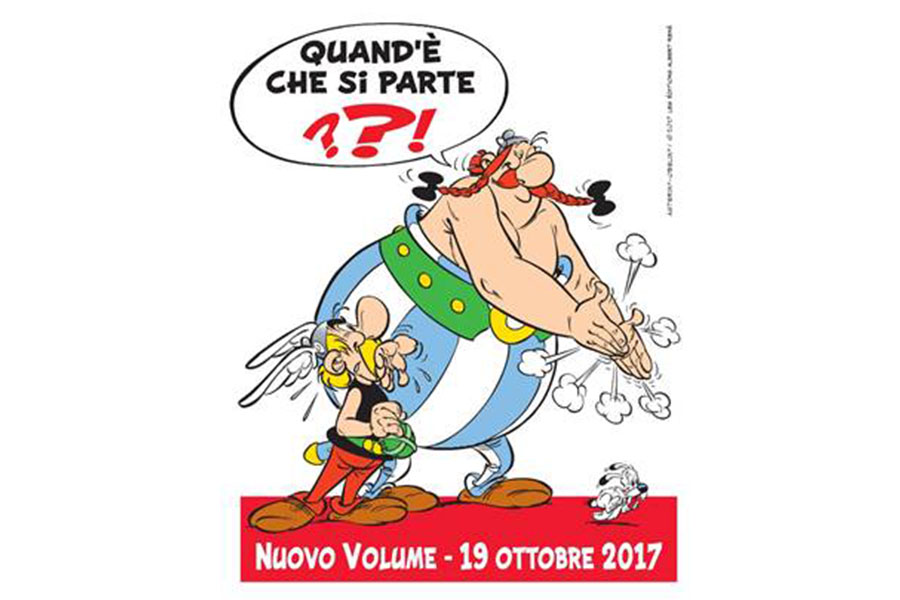 The new Asterix and Obelix comic is out in 2017!