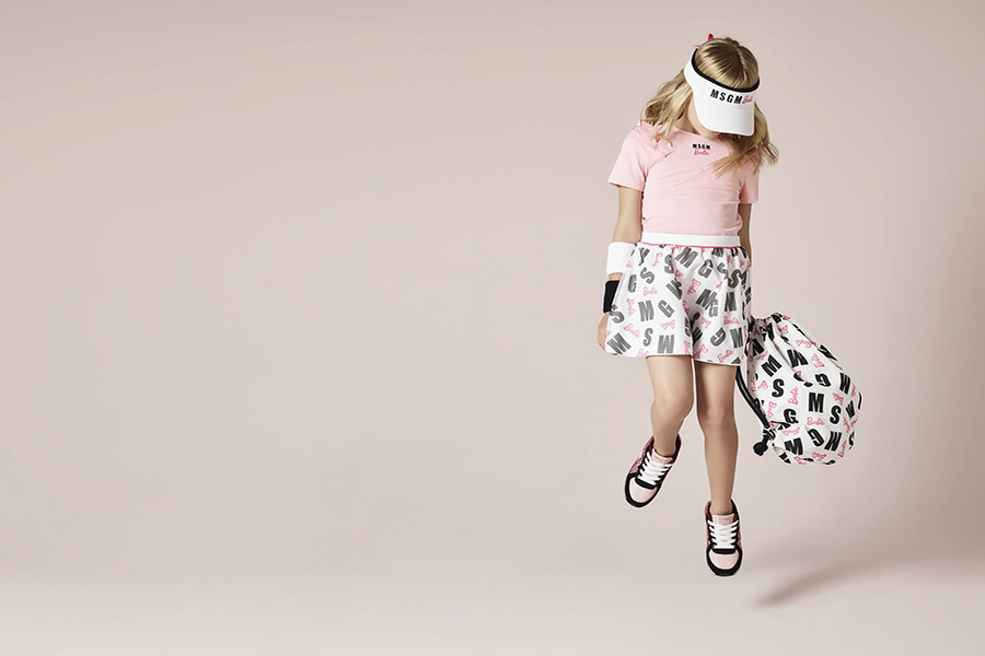 The Barbie® collection by MSGM Kids available soon