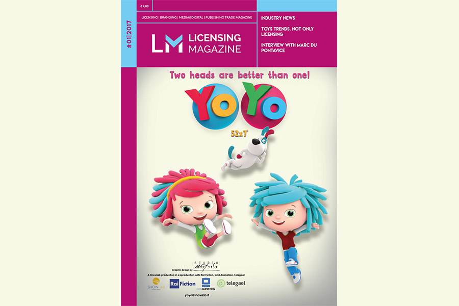 The new issue of Licensing Magazine
