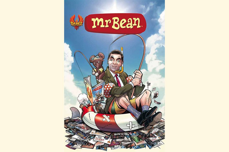 Dabel Brothers Publishing brings Mr. Bean to graphic novels