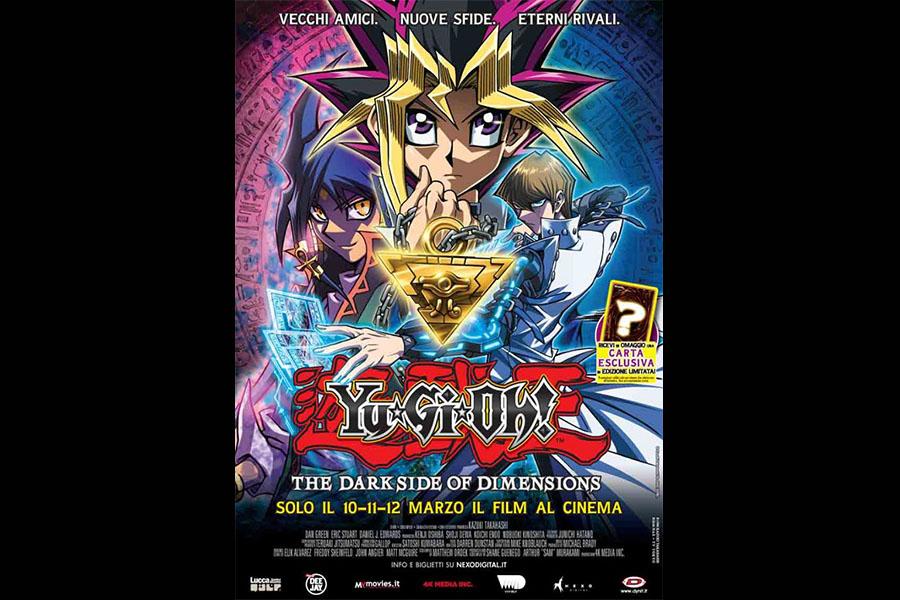 """Yu-Gi-Oh! THE DARK SIDE OF DIMENSIONS"" in Italian cinemas"