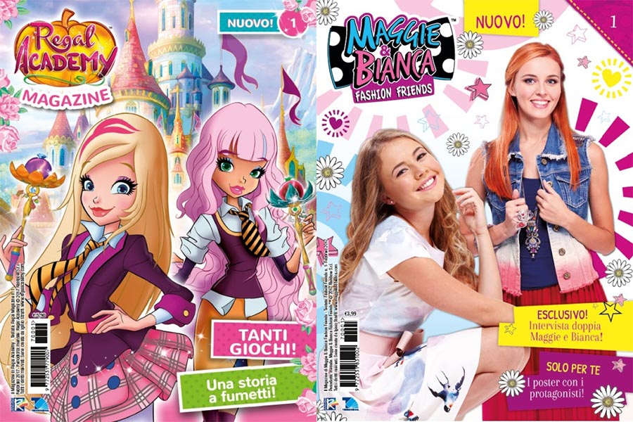 "New magazines ""Regal Academy"" and ""Maggie & Bianca Fashion Friends"""