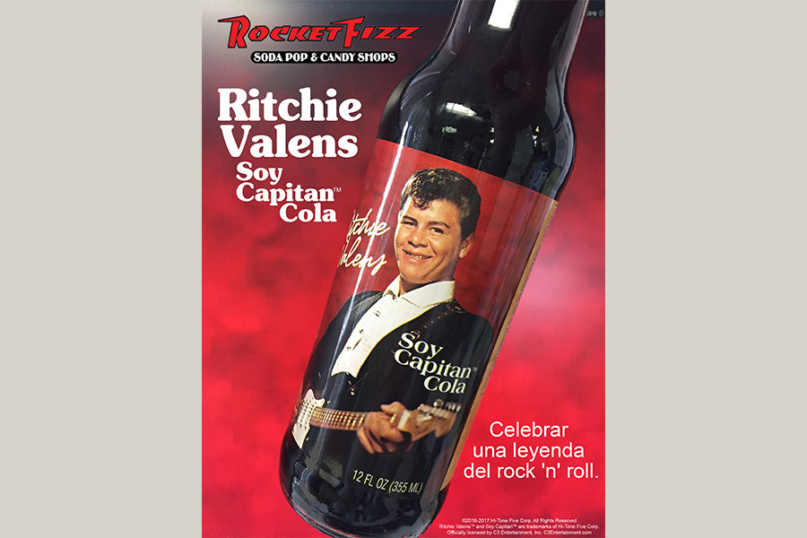 Ritchie Valens Soy Capitan Cola now available in the U.S.