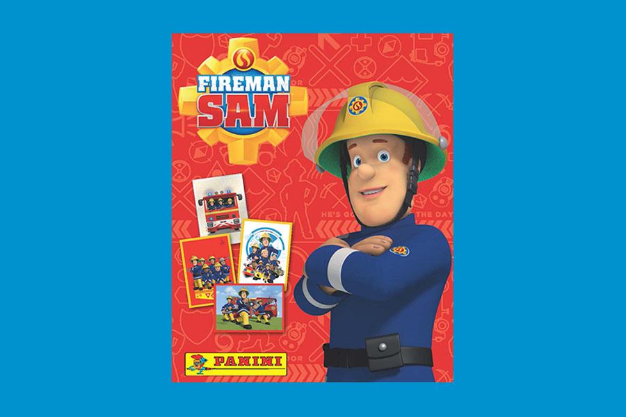 Arriva l'album di figurine Sam il Pompiere!