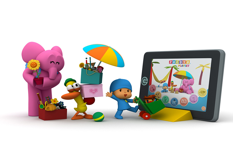 'POCOYO Playset: Let's Move', Best Preschool Learning App