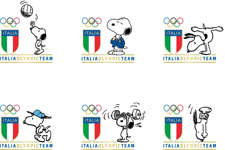 Team Italia has another athlete in the team!