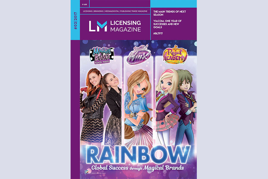 IT'S PUBLISHED THE NEW ISSUE OF LICENSING MAGAZINE