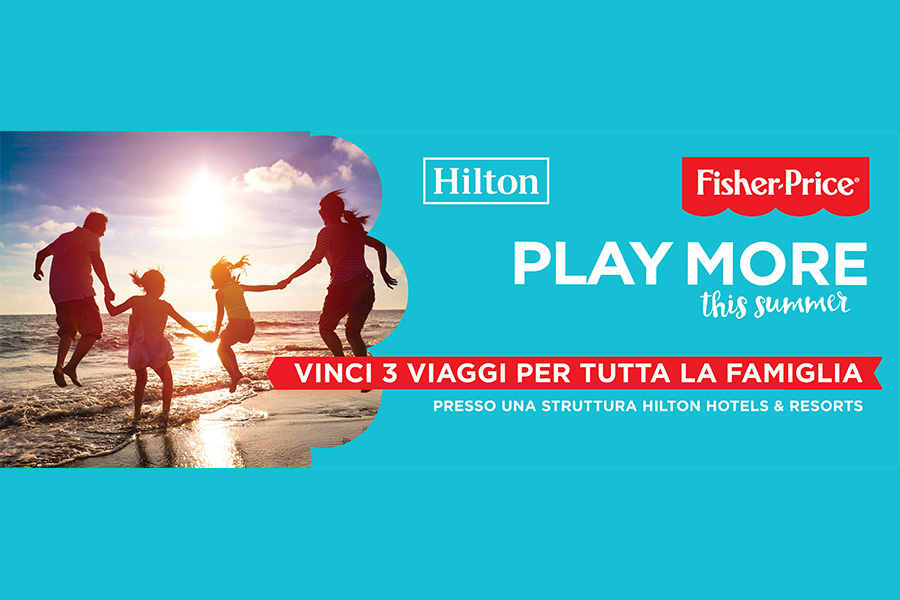 FISHER-PRICE LAUNCHES A NEW COMPETITION DEDICATED TO PLAY MORE!