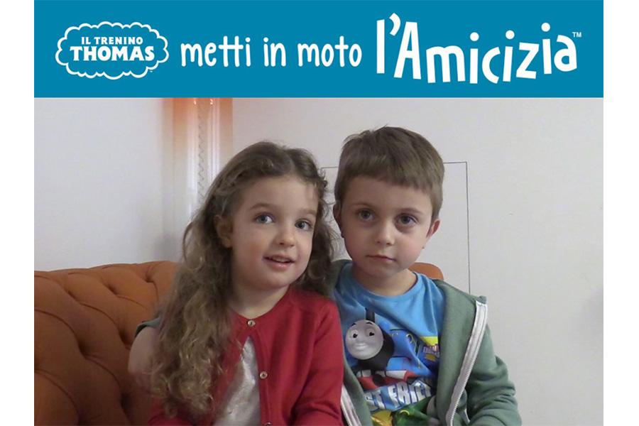 I vincitori del casting Trenino Thomas #MettiInMotoLAmicizia!