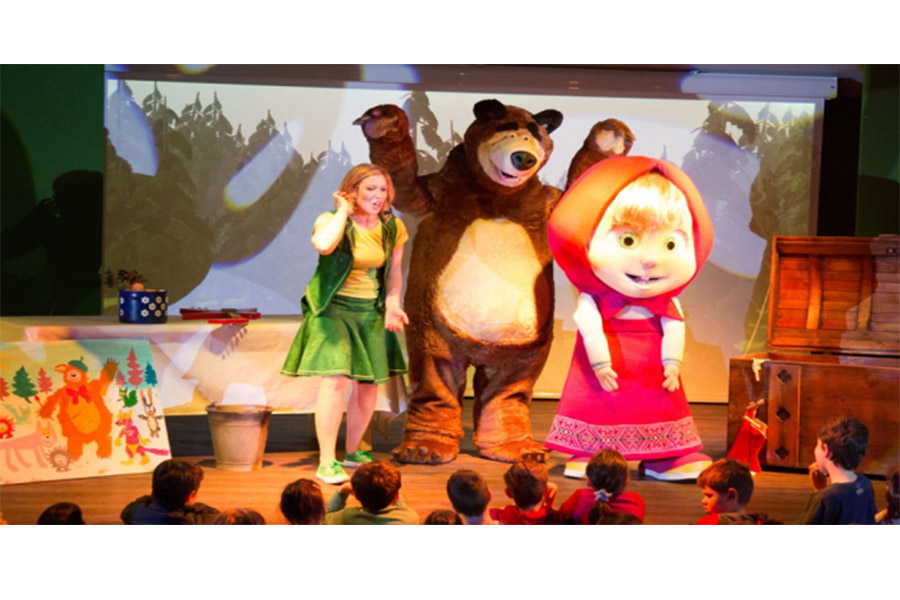 Masha and the Bear take centre stage at Leolandia for 2017