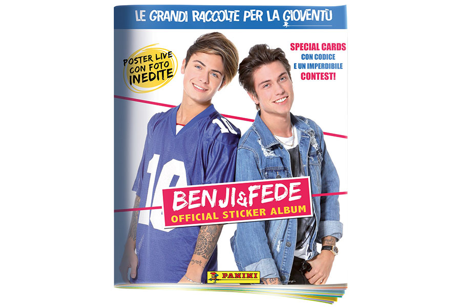 BENJI & FEDE OFFICIAL STICKER COLLECTION