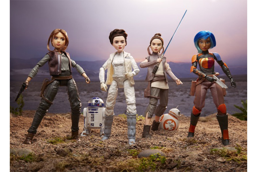 Disney and Lucasfilm Celebrate Iconic Heroes with Star Wars Forces of Destiny