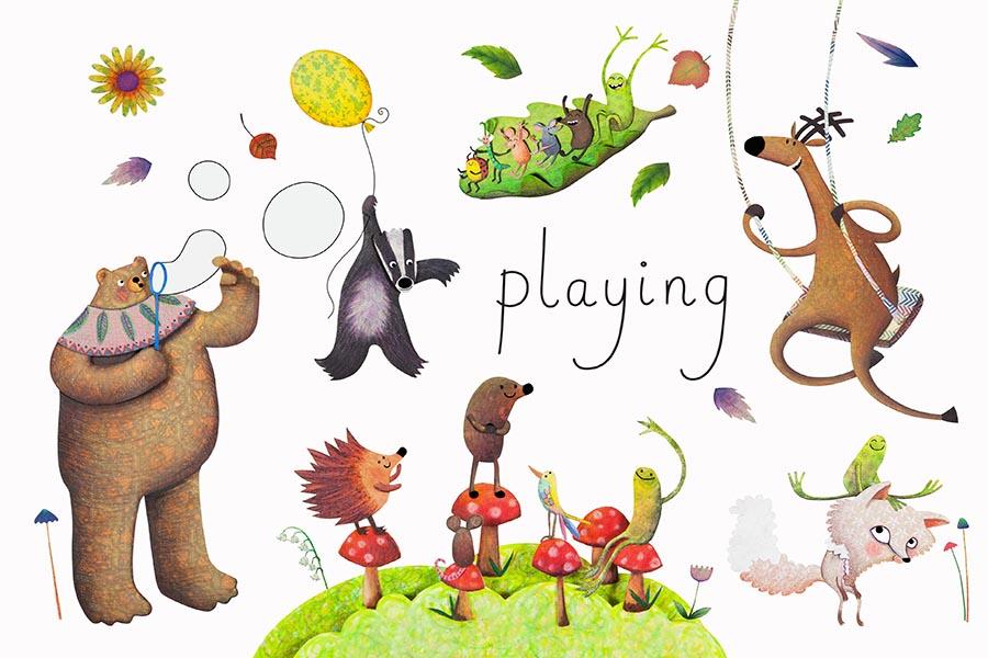 Illustrator Jo Rose Updates Classic Baby Book Genre for Bologna Book