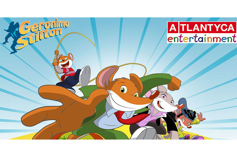 The animated  TV series by Geronimo Stilton leads the audience in China