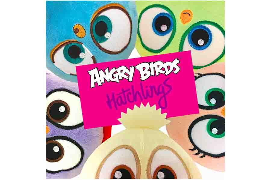 Pea&Promoplast produrranno Angry Birds promotional plush