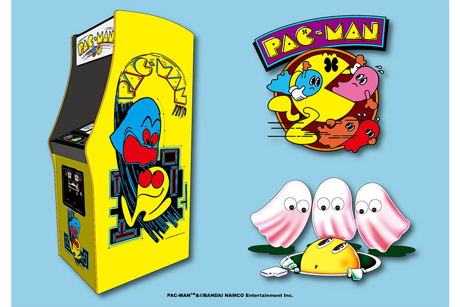 Bandai Namco brings back the coveted Pac-man Retro Art in a new style guide