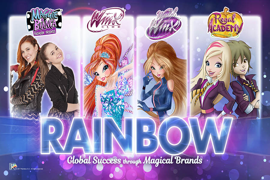 Rainbow sta per brillare su Las Vegas!