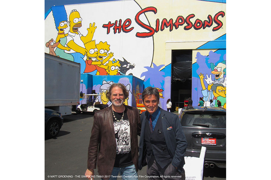 BERGAMO: THIS JUNE THE SIMPSONS DIRECTOR IS COMING TO TOWN!