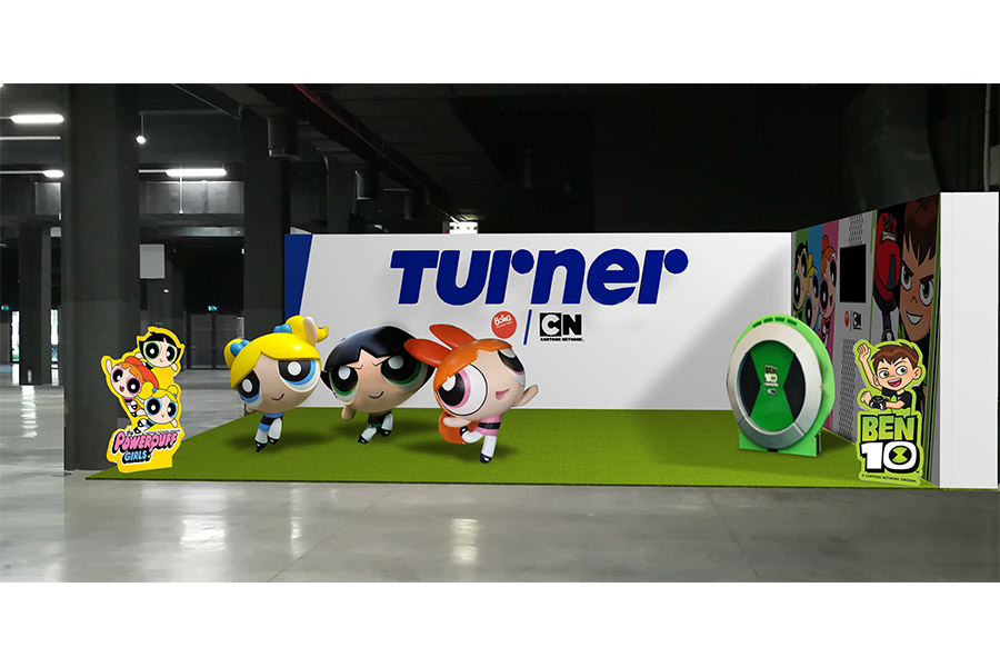 TURNER PROTAGONIST AT TOYS MILANO 2017