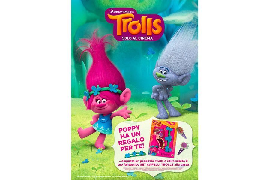 Iniziativa Trolls e Arnetta nei BimboStore e Toys Center