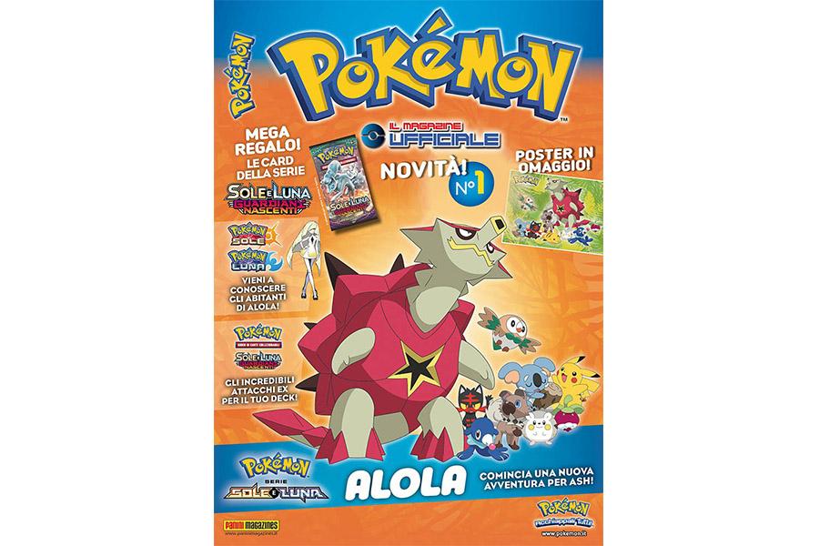 POKÉMON MAGAZINE 1 – Panini lancia la rivista ufficiale dei Pokémon