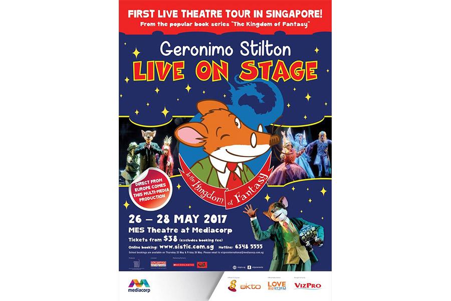 THE GERONIMO STILTON MUSICAL HITS SINGAPORE