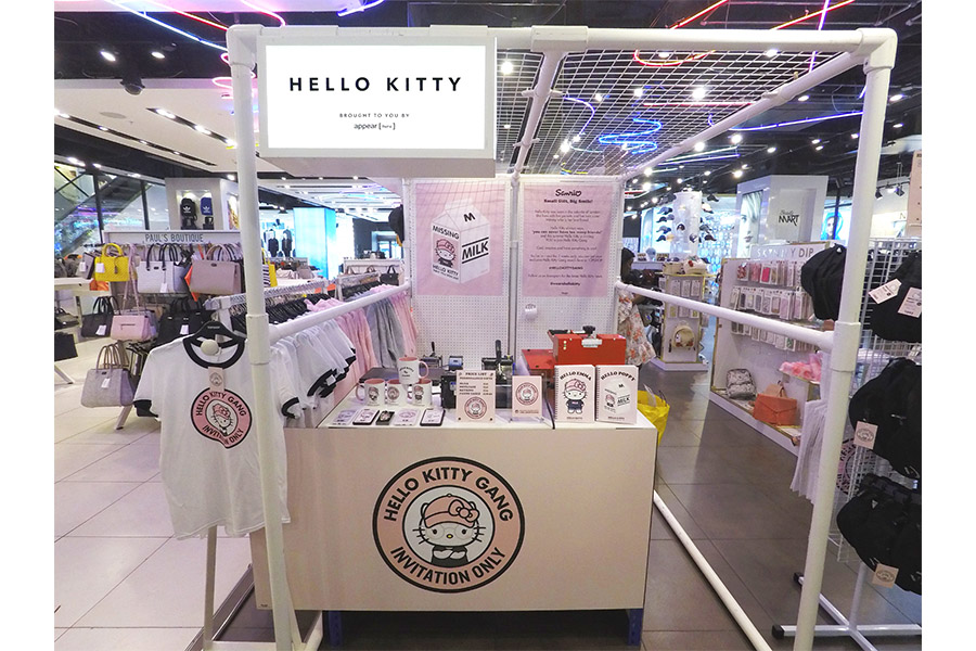 Hello Kitty Gang Pop-up store sbarca da Topshop