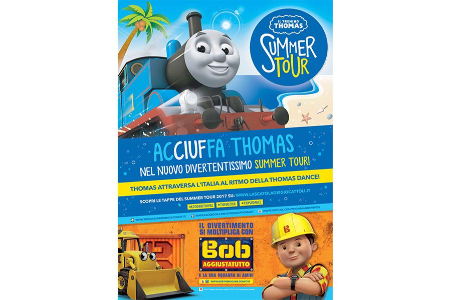 CIUF! CIUF! Nuovo Summer Tour per Il Trenino Thomas!