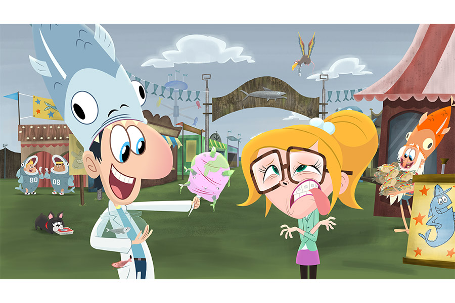 DHX MEDIA SERVES UP MORE THAN 30 KIDS' TITLES TO VIRGIN TV