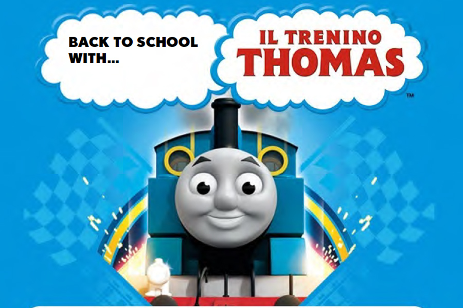 Back to school di Barbie, Il Trenino Thomas e Sam il Pompiere