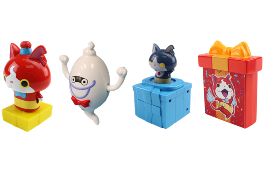 I GIOCATTOLI YO-KAI WATCH NELL'HAPPY MEAL DI MCDONALD'S