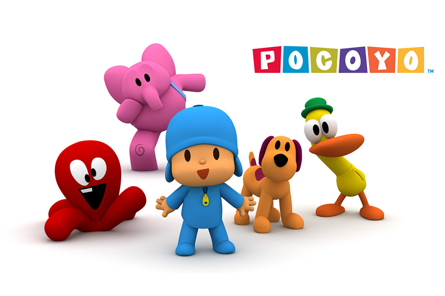 Pocoyo's adventures debut on Amazon Prime Video