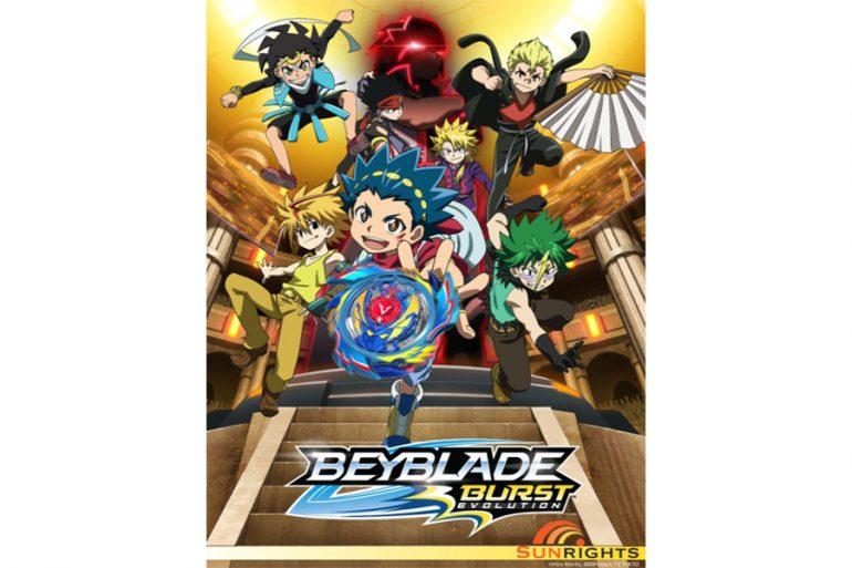 BEYBLADE BURST Scores Season 2 with Renewals by Disney XD
