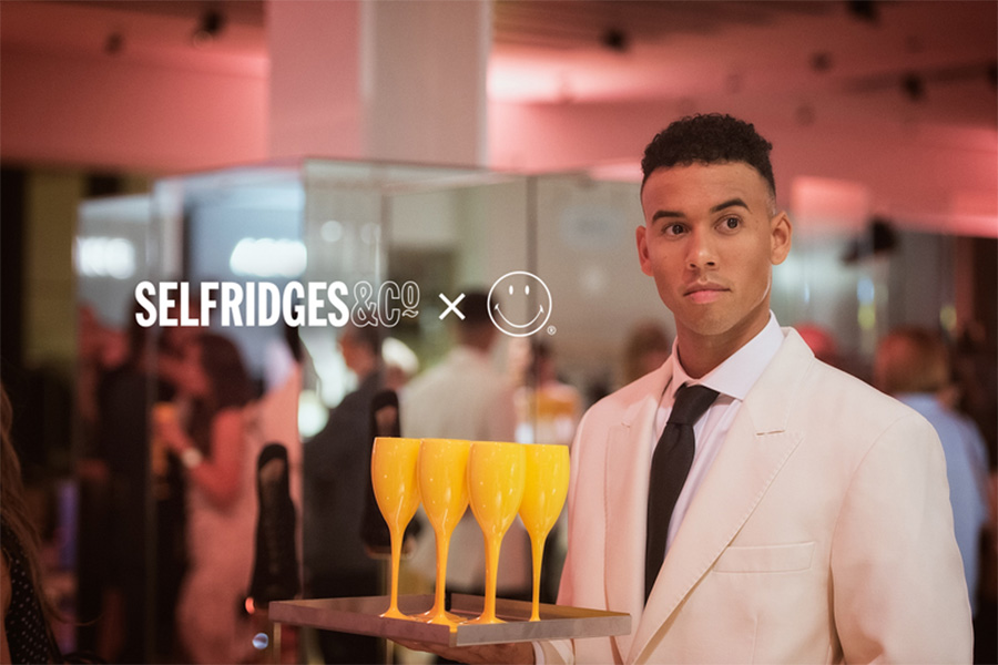 SMILEY & SELFRIDGES CONTINUE TO DEVELOP PROMOTIONAL TIES