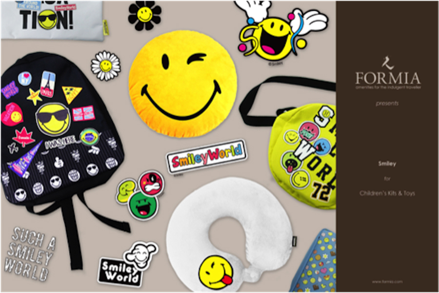 The Smiley Company launches childrens amenity kits with Formia