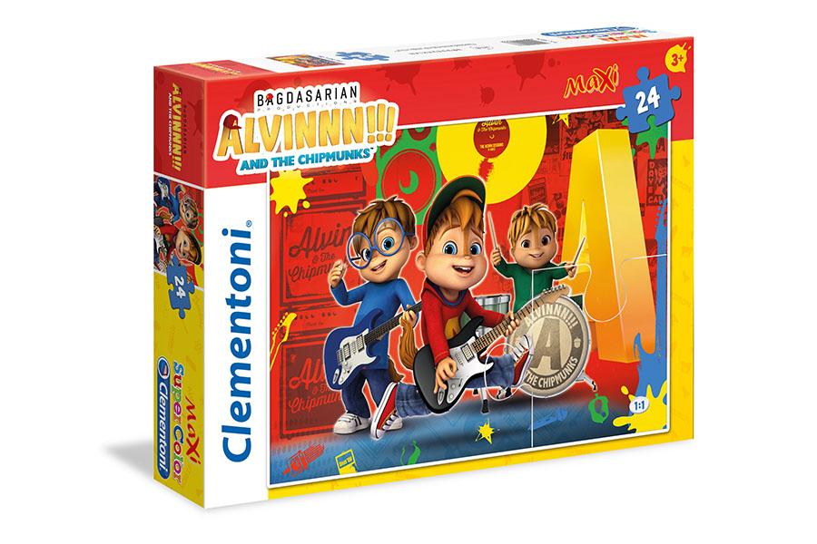 Clementoni nuovo licenziatario di ALVINNN!!! And the Chipmunks