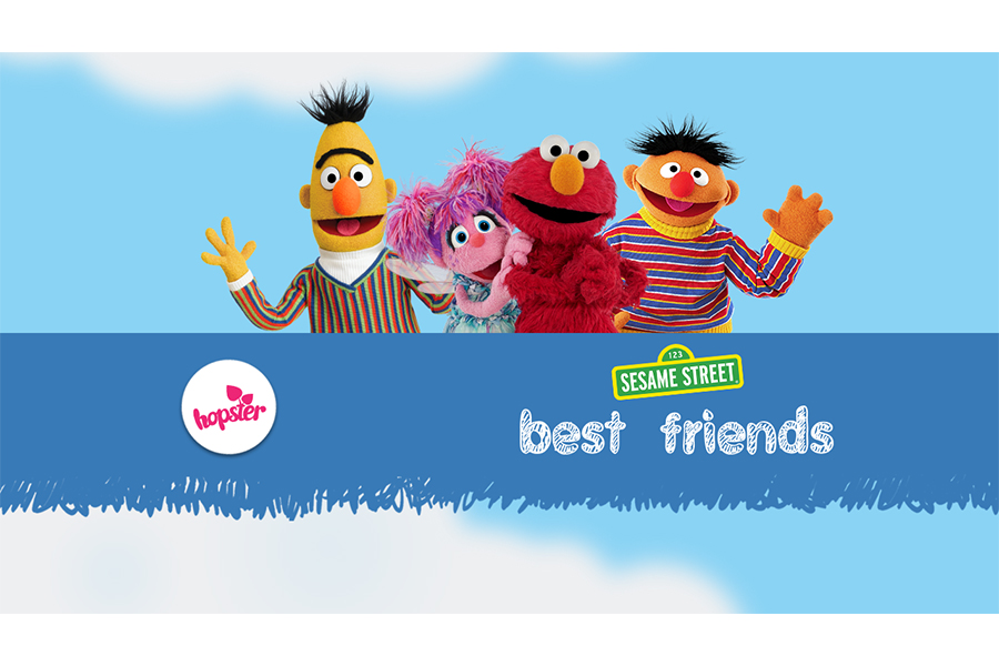 Hopster TV announces a collaboration with Sesame Workshop