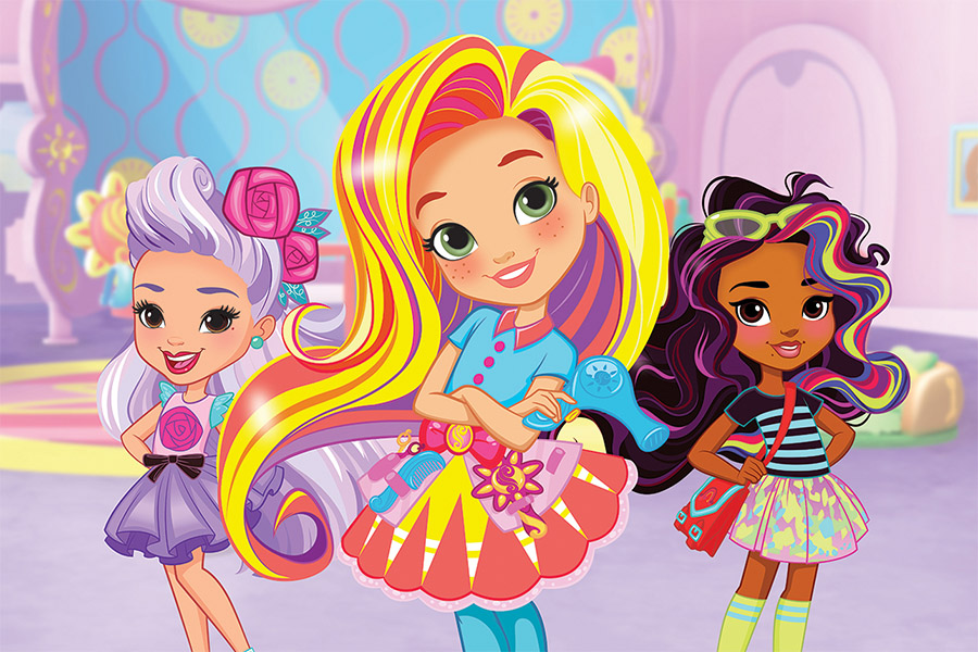 Sunny Day debuts in Italy, on air on Nick Jr