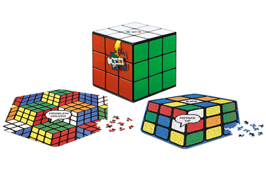 Rubik's Cube Jigsaw Wins Toy Fair Hero Award
