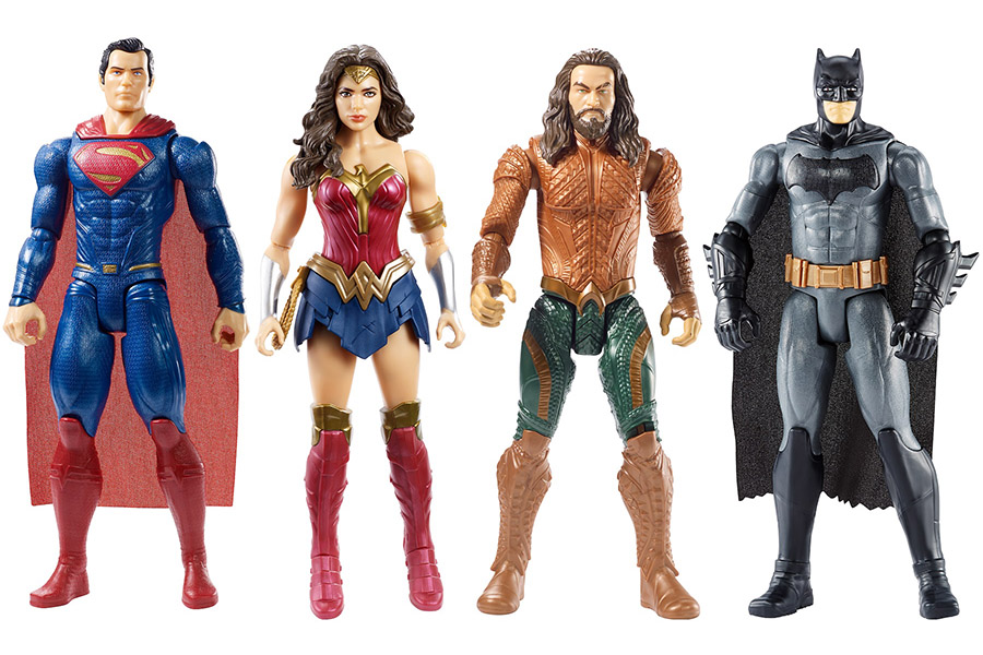 Warner Bros. Consumer Products presents the month of DC Super Heroes