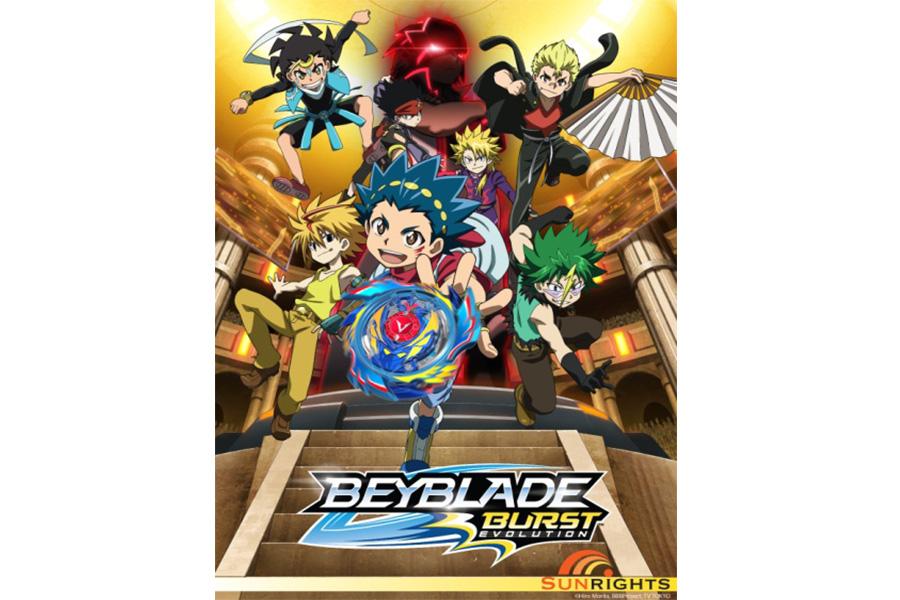 Beyblade Burst Evolution 2 è stato lanciato su Télétoon in Canada