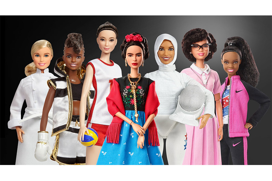 For International Women's Day Barbie celebrated the world's most inspiring female role models