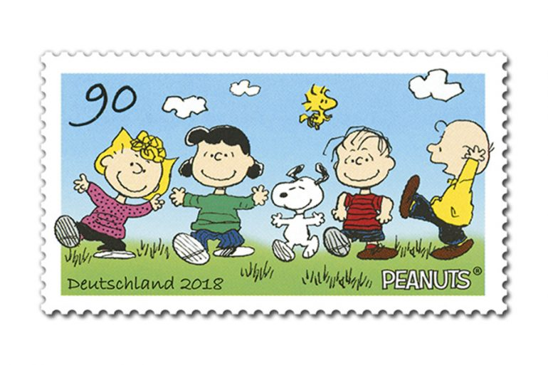 For The First Time German Federal Ministry Of Finances Is Issuing To Postage Stamps With PEANUTS