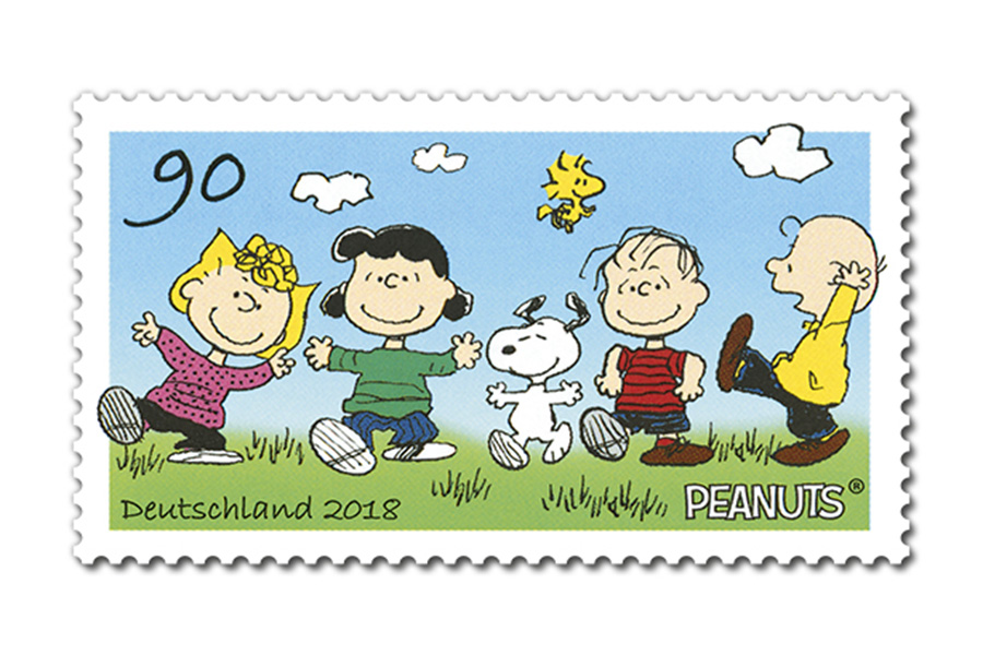 Stamps with Love from Snoopy and the PEANUTS