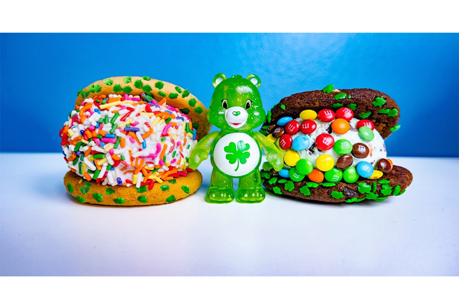 Care Bears & CREAM Collaborate on Good Luck Bear Ice Cream Sandwiches in March
