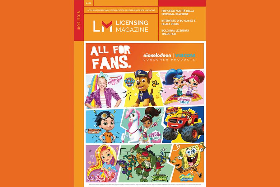 È uscito il nuovo Licensing Magazine