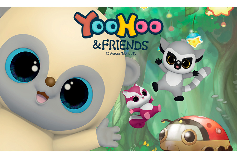 Play Press acquires some of the rights to publishing of Yoo-Hoo&Friends
