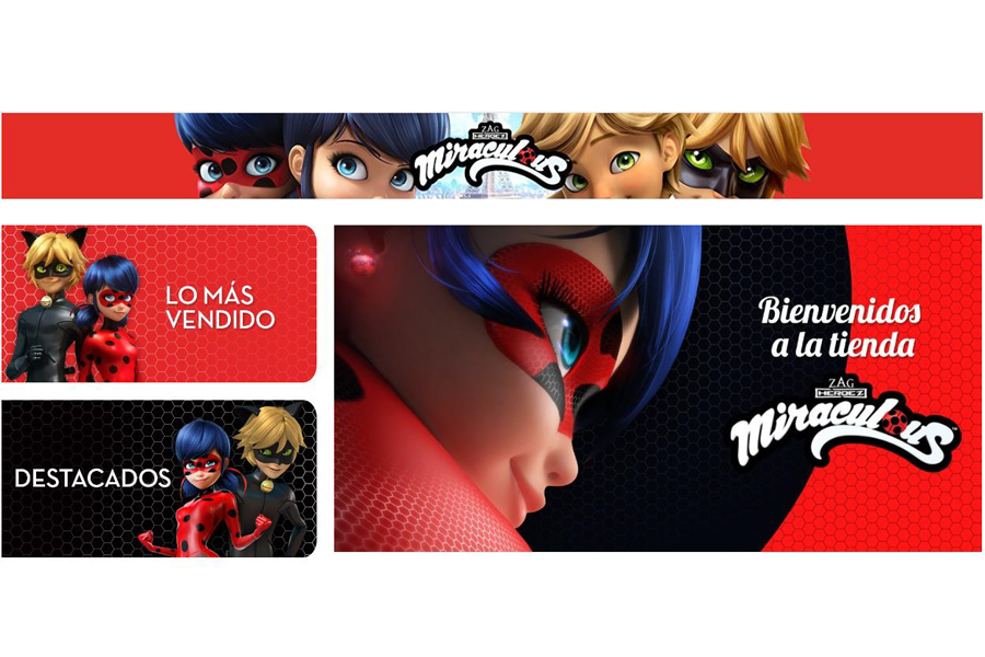 The Zag Heroes Miraculous™- Tales Of Ladybug & Cat Noir store launches on Amazon