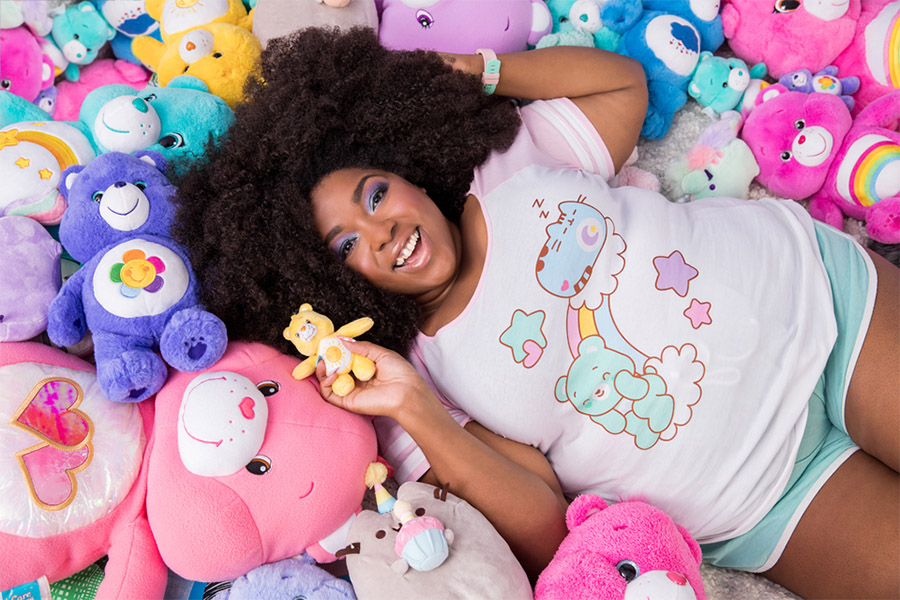 Care Bears™ and Pusheen come together to create the cuddliest collaboration ever